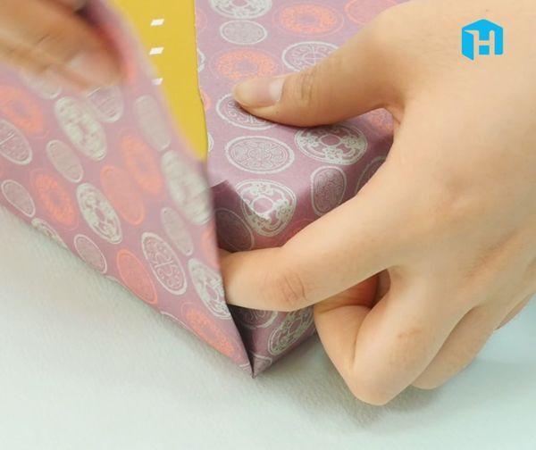 포장지 작을 때 포장하는 방법