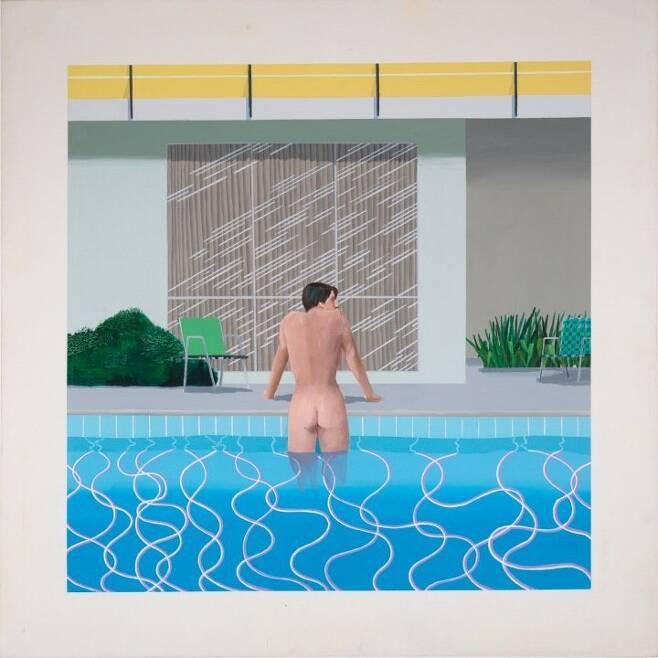출처: Peter Getting out of Nick's Pool (1966), David Hockney|Richard Schmidt, Tate.org.uk