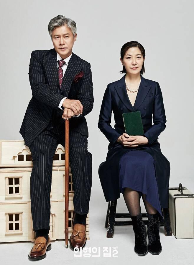 출처: <인형의 집 Part 2>에 출연하는 박호산(왼쪽)   LG아트센터