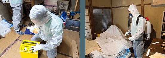 출처: 일본 특수청소 업체 EXSIA 공식 홈페이지