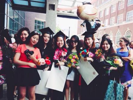 출처: 미국에서의 졸업식 사진