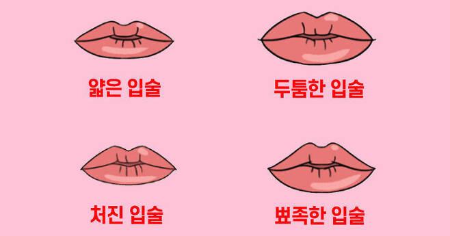 출처: 당신의 입술 모양은 어떤가요?