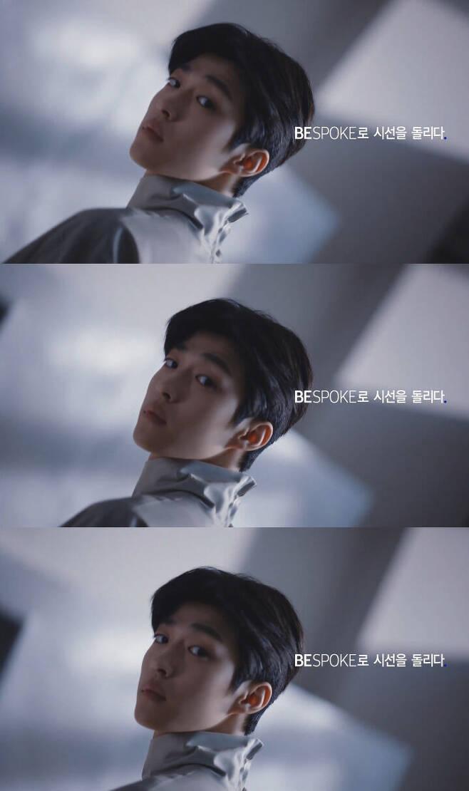 출처: 삼성 BESPOKE 에어드레서 광고 화면 캡처