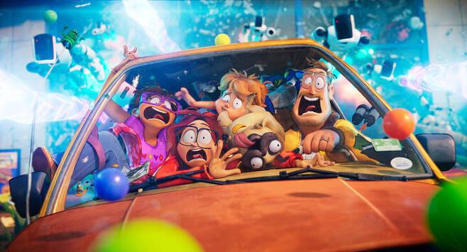 출처: 영화 <미첼 가족과 기계 전쟁> ⓒ 넷플릭스