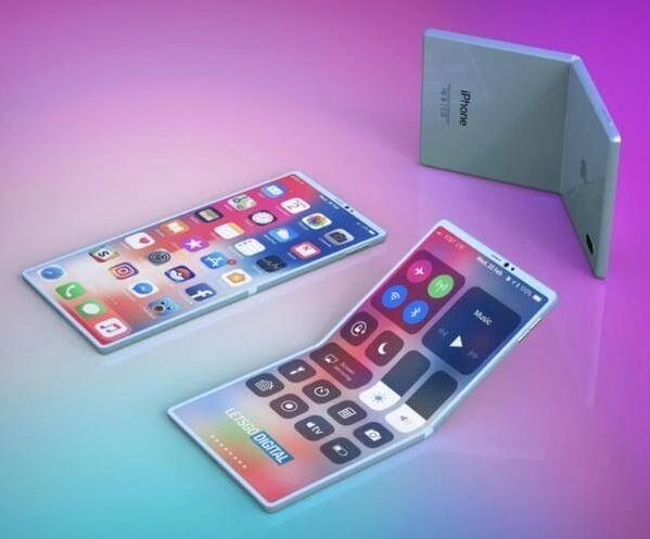 출처: '폴더블 아이폰 렌더링 이미지' / 레츠고 디지털
