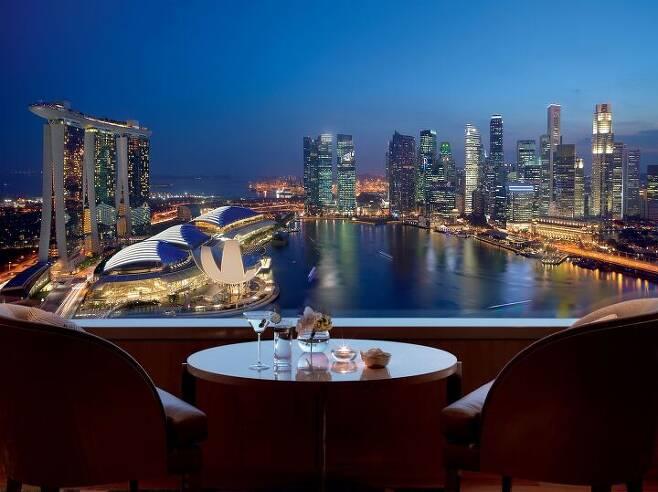 출처: ⓒThe Ritz-Carlton Millenia Singapore