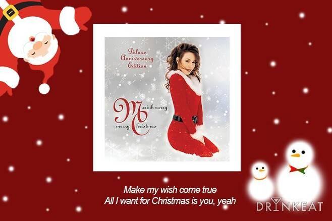 출처: 'All I Want For Christmas Is You' 앨범 자켓