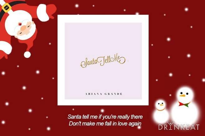 출처: 'Santa Tell Me' 앨범 자켓
