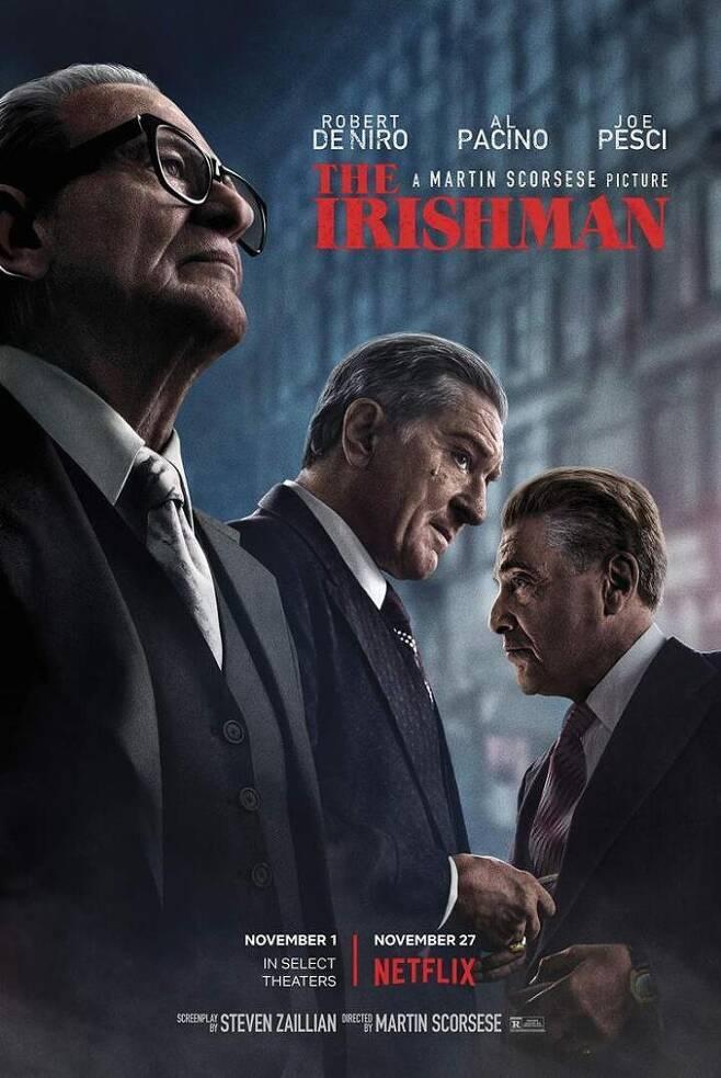 출처: 넷플릭스 영화, 〈아이리시 맨(The Irishman)〉의 포스터