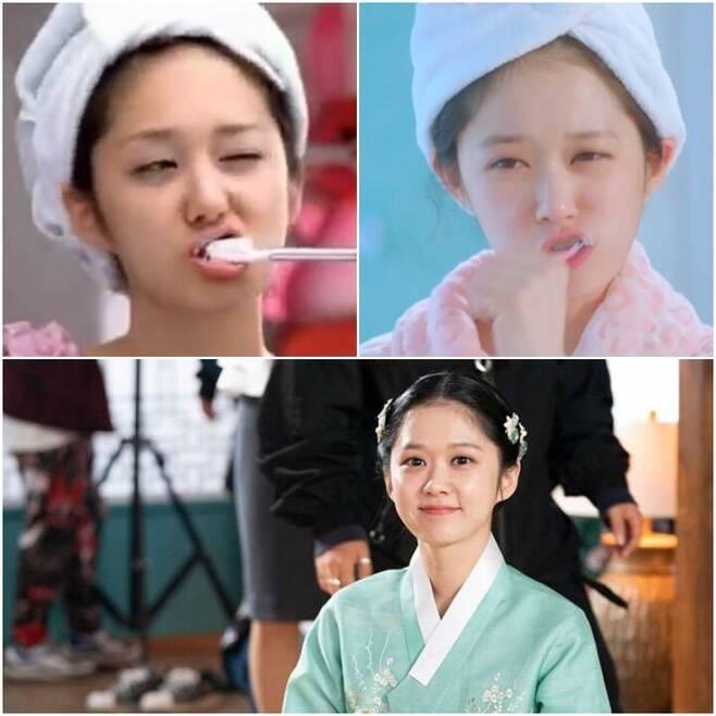 출처: 출처: @nara0318, sweet dream M/V 캡처, MBC <한번 더 해피엔딩> 캡처