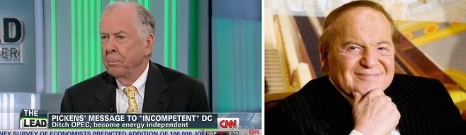 출처: 유튜브 채널 'Thomas Boone Pickens', 'CNN' 캡처