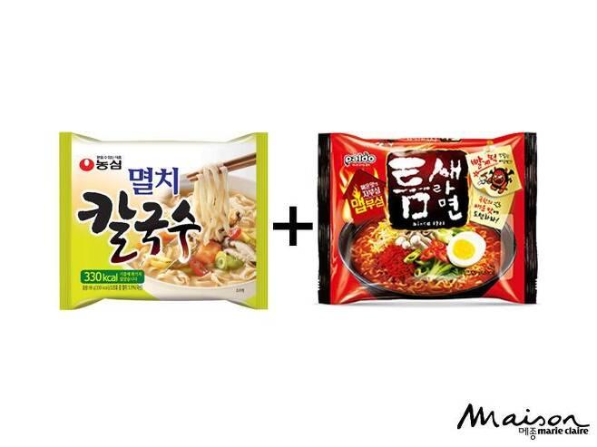 출처: ⓒ농심(좌), 팔도(우)