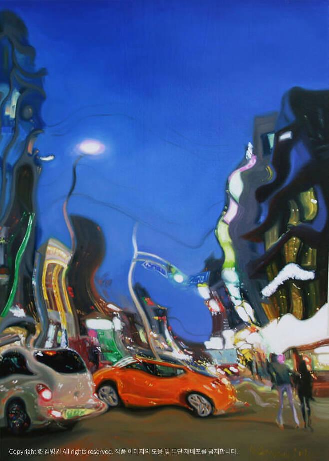 출처: 김병권 <Persistence of Memory> 캔버스에 유채 91x65cm (30호), 2011