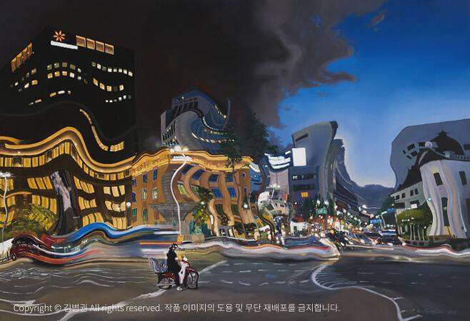 출처: 김병권 <Persistence of Memory> 캔버스에 유채 112x162cm (100호), 2012