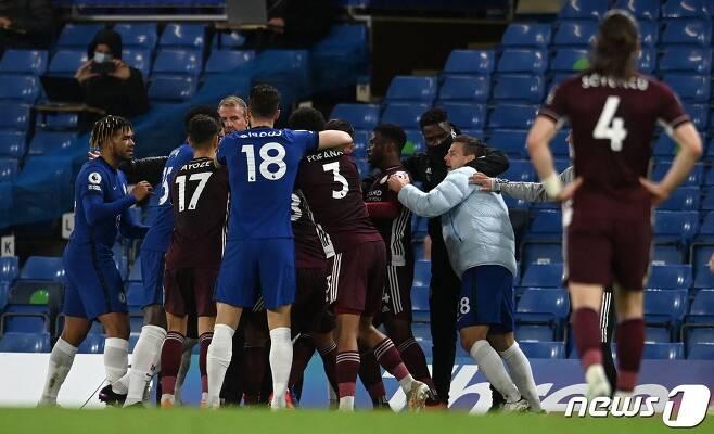 UCL 우승에 도전하는 첼시. © AFP=뉴스1