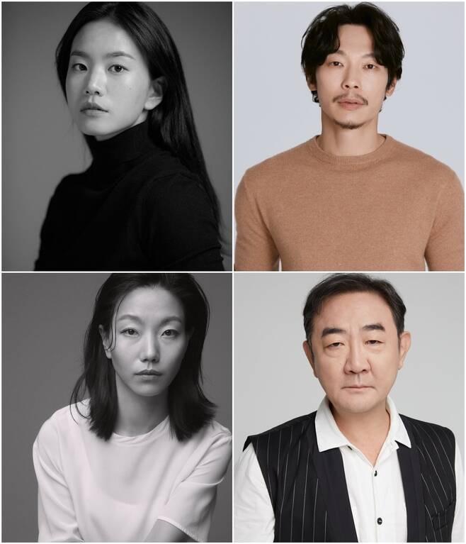 ▲ 왼쪽 위부터 이설, 양경원, 김신록, 김홍파. 제공ㅣ각 소속사