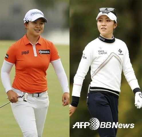 2021년 미국여자프로골프(LPGA) 투어 메디힐 챔피언십에 디펜딩 챔피언으로 출전하는 김세영 프로. 2018년 우승자 리디아 고. 사진제공=ⓒAFPBBNews = News1