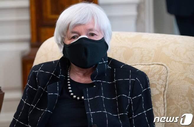 재닛 옐런 미국 재무 장관 © AFP=뉴스1 © News1 우동명 기자