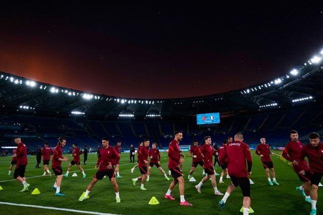 유로2020의 개막전은 이탈리아와 터키의 A조 경기다. ⓒ 뉴시스