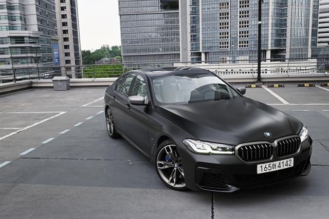 BMW M550i xDrive 시승기
