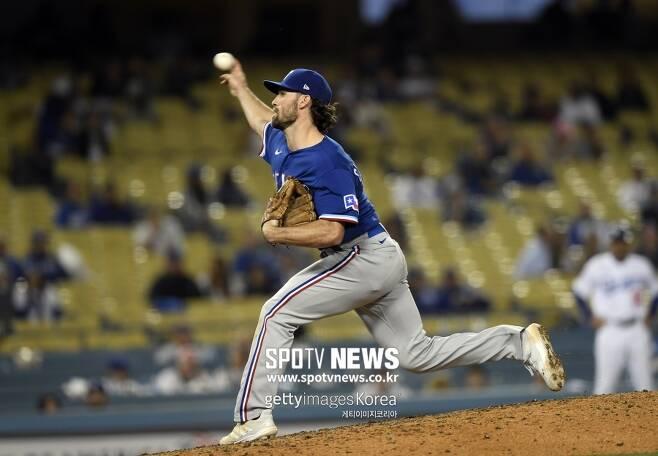 ▲ 12일 LA 다저스전에서 인상적인 피칭을 선보인 야수 찰리 컬버슨