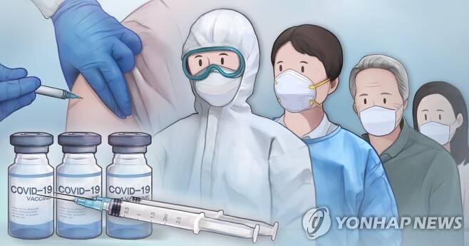 코로나19 백신 접종 (PG) [홍소영 제작] 일러스트