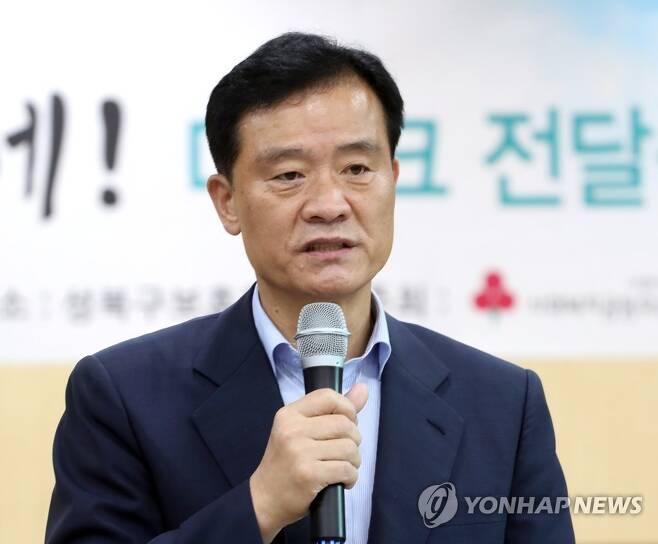 이승로 성북구청장 [연합뉴스 자료사진]