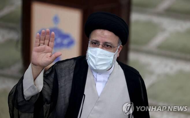 라이시 이란 대통령 당선인 [AFP=연합뉴스]
