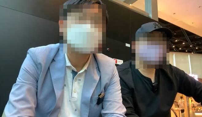 """""""윤석열 X파일 6장짜리 우리가 만들었다"""" - 유튜브 열린공감TV 영상 캡처. 2021-06-23"""