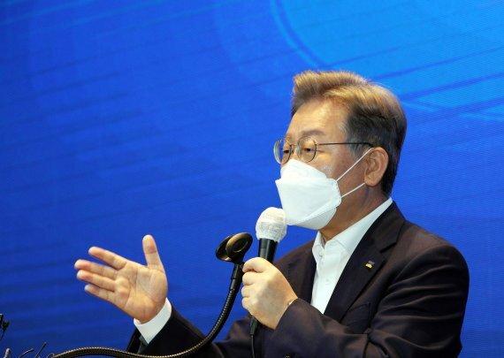 이재명 더불어민주당 대선경선 후보.사진=뉴스1