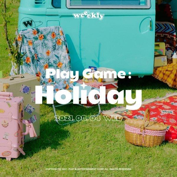 4일(수), 위클리 미니 앨범 4집 'Play Game : Holiday' 발매 | 인스티즈