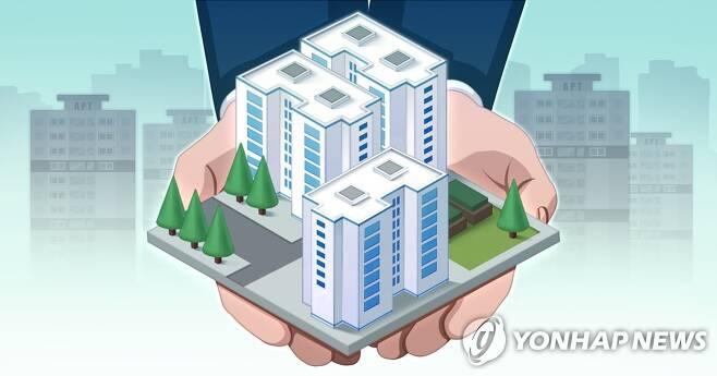 공공주택 공급 (PG) [김민아 제작] 일러스트