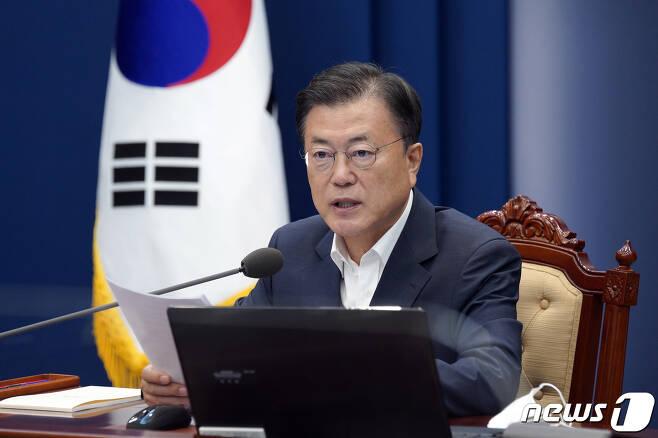 문재인 대통령 (청와대 제공)2021.7.12/뉴스1