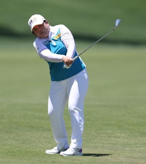 2021년 미국여자프로골프(LPGA) 투어 메이저 대회인 아문디 에비앙 챔피언십에 출전하는 박인비 프로. 사진제공=Getty Image