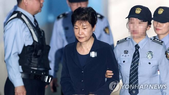 박근혜 전 대통령 [연합뉴스TV 제공. 재판매 및 DB금지]