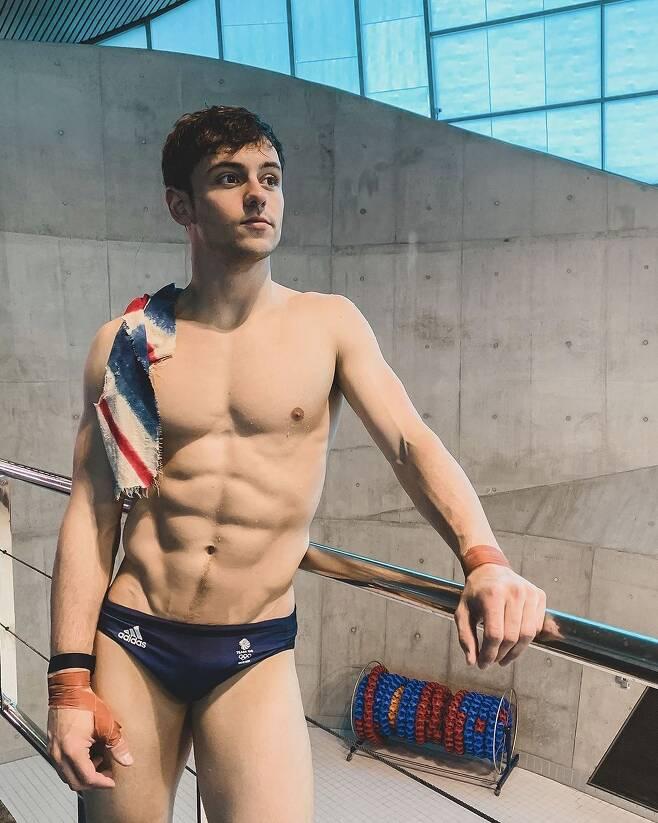영국의 다이빙 국가대표 선수 톰 데일리(27)