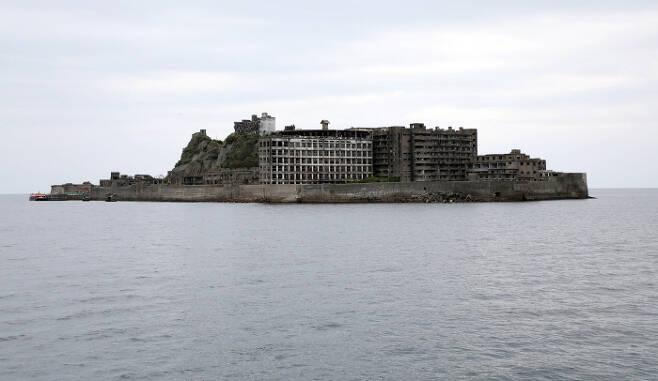 일본 나가사키 현 군함도. 경향신문 자료사진