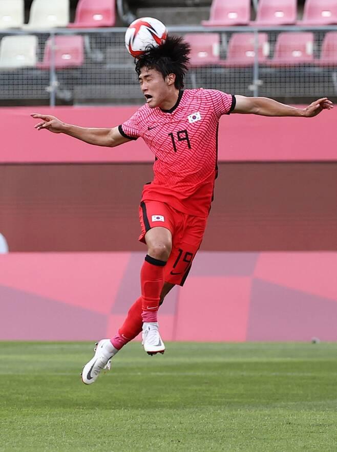 ▲ 올림픽 축구대표팀 왼쪽 측면 수비수 강윤성 ⓒ연합뉴스