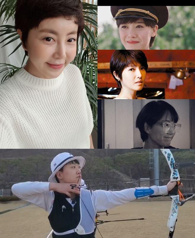 황혜영 구혜선 김경란 손수현 안산 선수