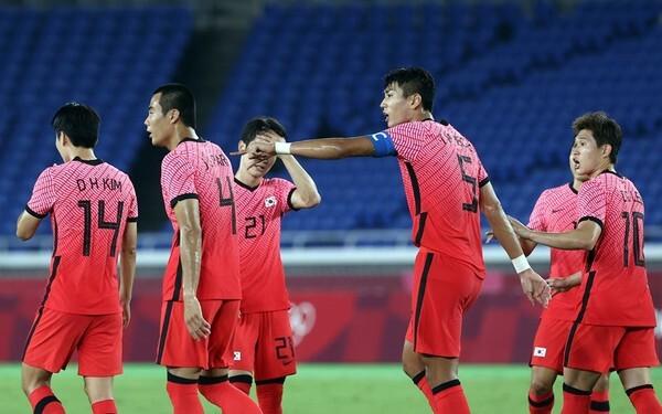 사진=연합뉴스, 한국 올림픽 축구 대표팀