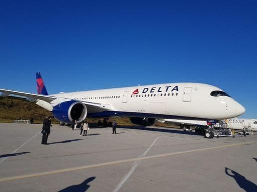 델타항공 A350 여객기