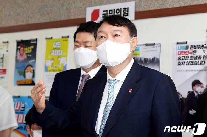 윤석열 전 검찰총장. 2021.8.2/사진=뉴스1