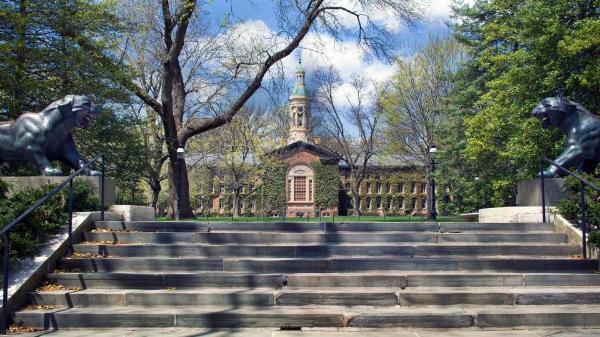 프린스턴 대학이 미국 1위 명문 대학을 차지했다. /사진=프린스턴 대학 홈페이지