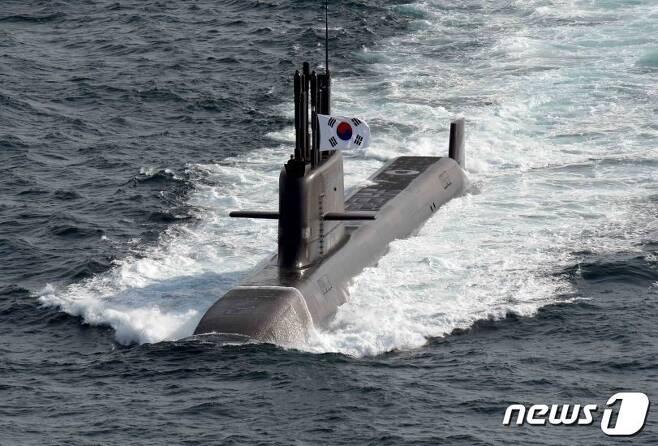 3000톤급 해군 잠수함 '도산안창호함' (해군 제공) © 뉴스1