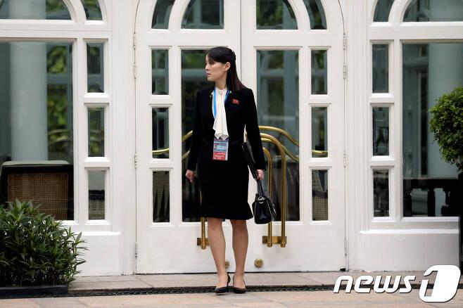 북한 김여정 노동당 부부장. © 로이터=뉴스1 © News1 우동명 기자