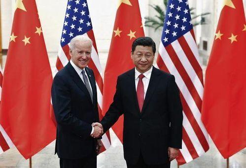 조 바이든 미국 대통령이 부통령 시절이던 2013년 12월 4일 중국 베이징 인민대회당에서 시진핑 중국 국가주석과 만나 악수를 나누고 있다. /신화 연합뉴스
