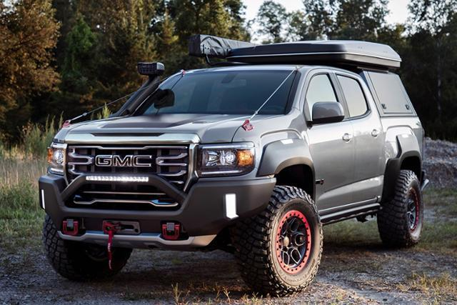 GMC가 더 많은 픽업트럭 소유자들에게 많은 영감을 줄 수 있는 'GMC 캐니언 AT4 오벌랜드 X 컨셉'을 공개했다.