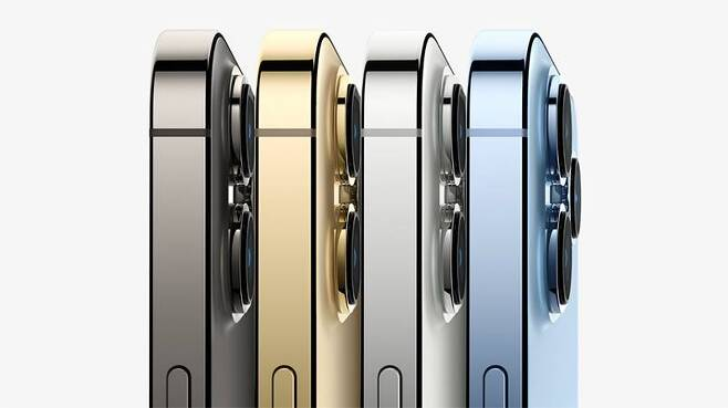 애플 아이폰 13 프로의 색상. 출처=애플