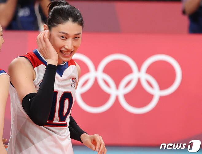 도쿄올림픽 당시 김연경 선수. © News1