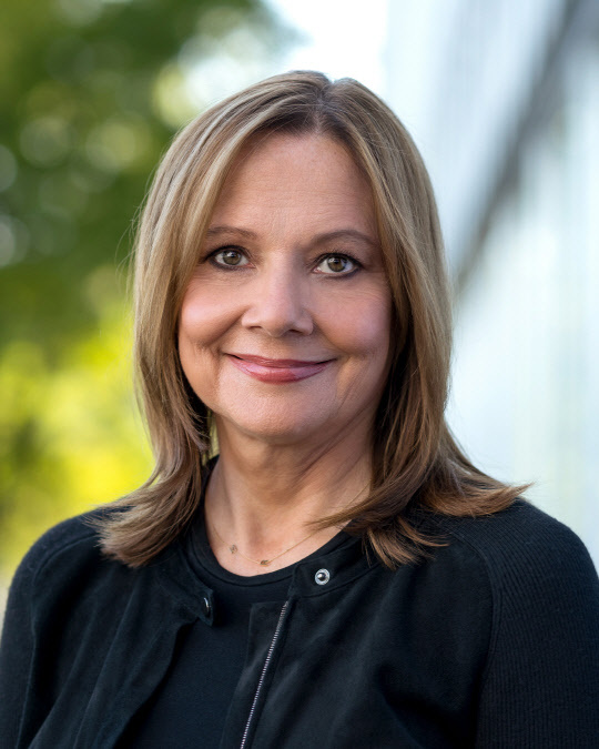 Mary Barra, General Motors Chair and Chief Executive Officer (GM 홈페이지)